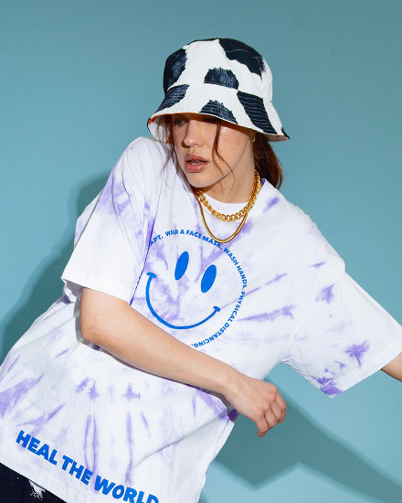 Reversible Cow Print Bucket Hat