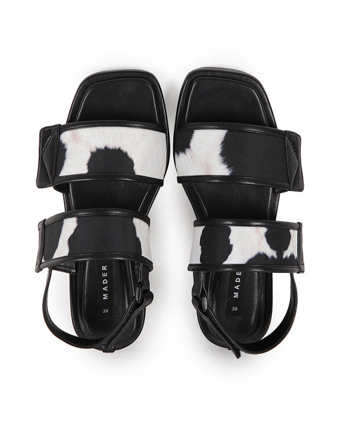 Cow Straps Slingback