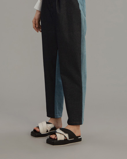 PRE ORDER SOH - Two Tone Balloon Jeans